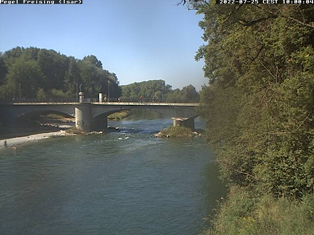 Webcam Pegel Freising